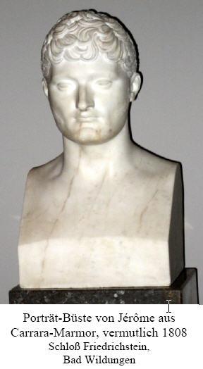 Jérôme Bonaparte, König des Königreichs Westphalen