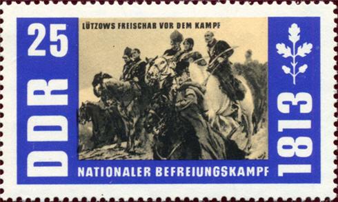 Briefmarke aus Dieter Hoppes Archiv